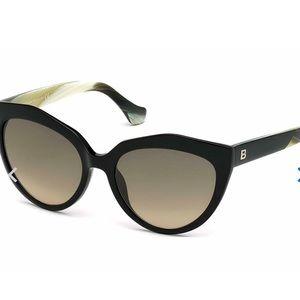 Balenciaga cat Eye sunglasses.